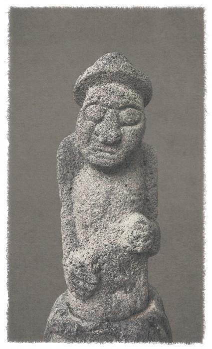 Human Desire_stone totem pole 20